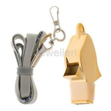 1 Pcs Referee Coach Whistle Outdoor Emergency Survival Whistle with Lanyard