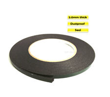 2mm Thick Double Sided Adhesive Black Sponge Tape for Cell PC Car Dustproof Seal