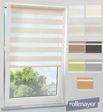 DOUBLE ROMAN BLIND DUO SHADE KLEMFIX EASYFIX BLINDS BLIND WITHOUT DRILL FAIRLEAD
