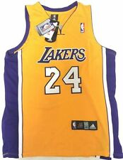 KOBE BRYANT NEW Lakers Adidas JERSEY #24 Authentics Sewn On Letters
