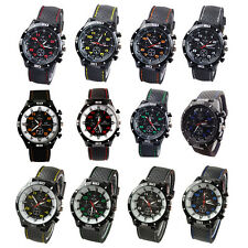 Silicone Watch Men's Sports watch Casual watches Cycling Analog wristwatch SN