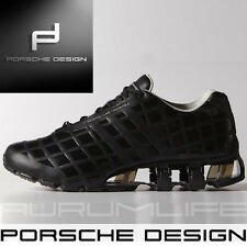 Adidas Porsche Design Bounce S Black Men's Leather Shoes P'5000 SIZE US 11.5