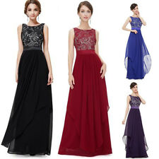 Ever Pretty Women Lace Bridesmaid Formal Long Prom Evening Party Dress Fashion