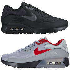 NEW Nike Air Max 90 Ultra SE GS Sneaker Sport Trainers Black Gray 844599 007 008