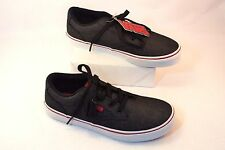 New VANS WINSTON Canvas Skate Shoes Black Chili Pepper Youth Size 12 & 3