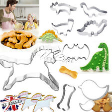 UK Chocolate Biscuit Mold Pastry Cake Decorating Cookie Baking Cutter Mold Tool