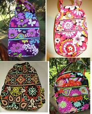 VERA BRADLEY Lunch Bunch Bag School Pixie Blooms Flutterby Ziggy Zinnia Sierra
