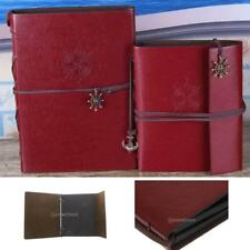 Vintage DIY Photo Album Leather Travel Story Album Scrapbook Memory Holder Gift
