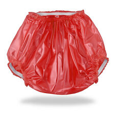 Red ABDL Plastic Pants (PVC) for Adult Baby Diapers & Nappy AB/DL & DDLG