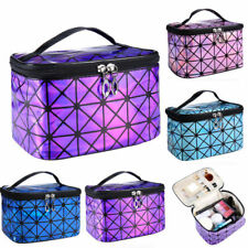 Large Beauty Make Up Nail Tech Cosmetic Makeup Bag Jewellery Case Storage Box