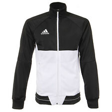 Adidas Men's TIRO 17 PES Training Jacket Black/White BQ2598