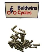 Bike / Cycle Brake Cable Crimps / Ends / Caps