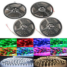 5M 5050 3528 SMD 300 LED Strip Light Lamp Cool Warm White RGB Waterproof New