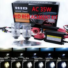 D2S D2C D2R HID Headlight Replacement Bulb Xenon AC KIT 10000K Light Blue Newest