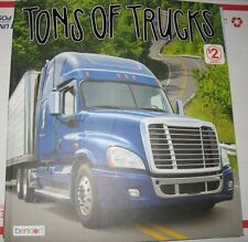 Tons Of Trucks, Large Illustrated Paperback Book
