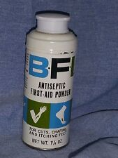 BFI Antiseptic First Aid Soothing POWDER~NEW Original Vintage Packaging~Rare/HTF