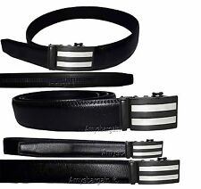 Men's Leather belt.Genuine leather Dress/Casual Men's Auto lock belt. UP to 50""