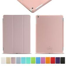 Smart Stand Cover for All Apple iPad Magnetic Leather Cover & Back Hard Case Lot