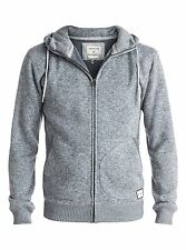 Quiksilver Keller  Mens Hoody in Light Grey Heather