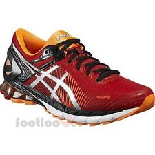 Shoes Asics Gel Kinsei 6 t642n 2393 Man Running Sneakers Red Silver Hot Orange