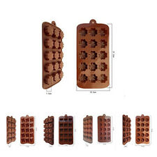 Jelly Ice Baking Chocolat Hot 1pcs Muffin Mould Cake Cookie Candy Mold Bakeware