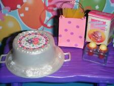 Birthday Party Decorations Bday Cake Lot Fits Fisher Price Loving Family Doll
