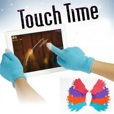 New Fashion Unisex Warm Knitted Winter Magic Gloves For Smart Phone Touch Screen