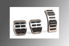 TT Manual Pedal Rubber Set 3 pcs For VW MK4 Golf GTI Jetta GLI 1.8T Beetle LHD
