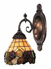 Grapevine Mix-N-Match 1-Light Tiffany-Style Wall Sconce by ELK Lighting
