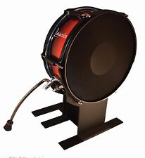 """Laurin Electronic Bass Drum WITH SPURS -12"""" mesh kick pad-Roland/Alesis/Yamaha"""