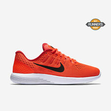 Nike Lunarglide 8 Mens Running Shoes 10 Total Crimson Black Red 843725 800