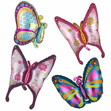 Butterfly Shape Foil Balloon Birthday Wedding Anniversary Party Supply 4 Pattern
