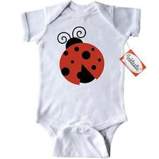 Inktastic Ladybug (Ladybird, Lady Beetle) With Dots - Red Infant Creeper Bug In