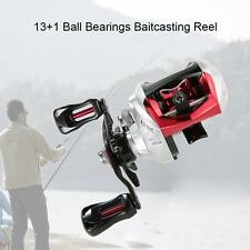 13+1BB 6.3:1 Gear RatioBearings Fishing Baitcast Reel Baitcasting Reel D6F9
