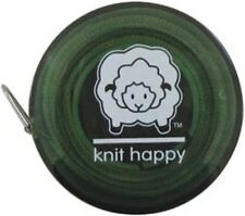 Knit Happy 75667 Knit Happy Tape Measure-Green. Shipping is Free