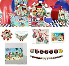 Jake and the Neverland Pirates Birthday Party Supplies Tableware Plates Napkins
