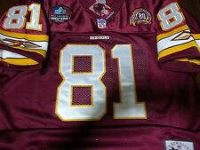 Brand New! Washing ton Redskins #81 Art Monk with Dual Patches Sewn Jersey WHITE