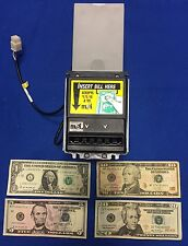 MARS MEI AE-2654 UP STACKER 12 VOLT BILL ACCEPTOR VALIDATOR WITH FLASHPORT AND