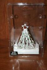 1998 Lemax Christmas Village Lighted Sculpture Christmas Tree Small #84237W
