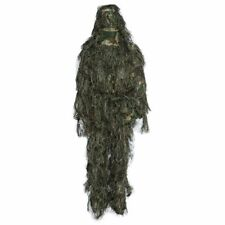 Hunting Woodland Camo Sniper Ghillie Suit Tactical Camouflage Clothing