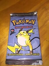 POKEMON BASE SET 2 1 BOOSTER PACK RAICHU AS PICTURED