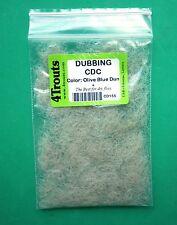 CDC DUBBING Fly Tying Materials best for Dry Fly Lot of 1, 3, 5 or 6 colors