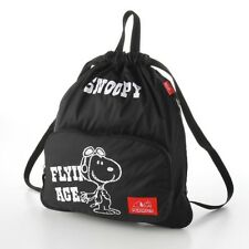 PEANUTS SNOOPY Knapsack Backpack Rucksack School Bag Purse from Japan E2667