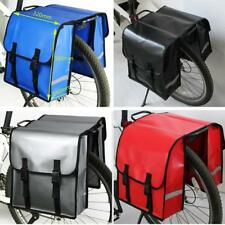 30L Waterproof Double Panniers Bag Cycling Bike Bicycle Rear Pannier Carrier