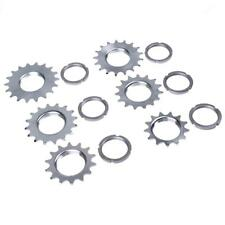 Bike Bicycle Sprocket Fixed Gear Single Speed Cog w/ Threaded Lock Ring 13T -18T