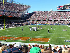 Chicago Bears vs. Green Bay Packers - 4 Tickets; Sec 121 - 12th Row GREAT SEATS