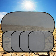 Hot sale 5Pcs Screen Mesh Sunshade Cover For Car Side Rear Window UV Protection