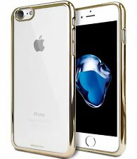 Genuine MERCURY Goospery Gold Ring Soft Jelly Case Cover For Apple iPhone 7