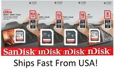 SanDisk SD Class 10 Ultra 8GB 16GB 32GB SDHC Flash Camera Memory Card Wholesale