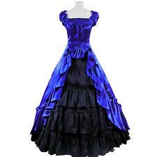 Gothic Victorian Cosplay Lolita Dress Costume Palace Ball Gown Fancy Party Dress